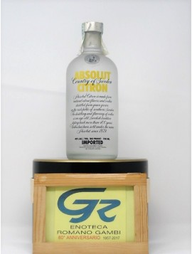 ABSOLUT VODKA CITRON CL 70