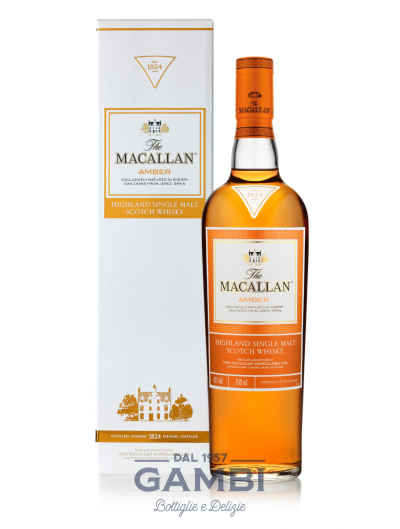 The Macallan Amber Highland Single Malt Bottiglia da 70 cl / Enoteca Gambi